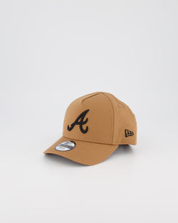 TODDLER ATLANTA BRAVES 9FORTY A-FRAME - WHEAT