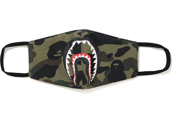 BAPE COLOUR CAMO SHARK MASK - 1ST CAMO