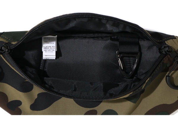 BAPE 1ST CAMO WAIST BAG - GREEN