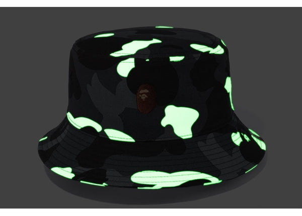 BAPE CITY CAMO BUCKET HAT - BLACK