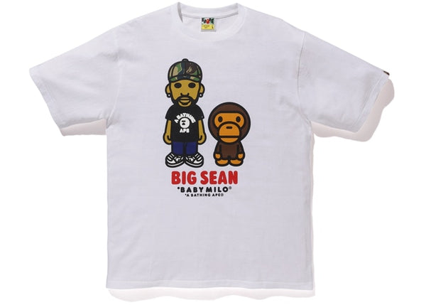 BAPE x BIG SEAN BABY MILO TEE - WHITE