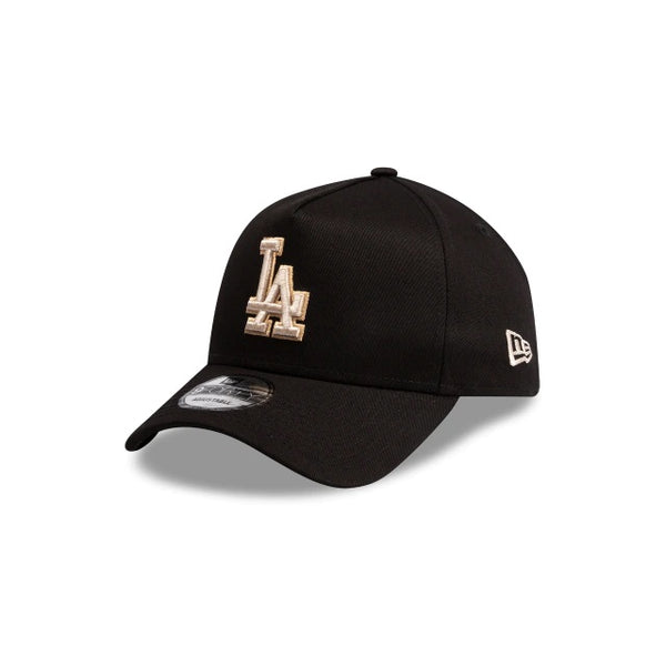 LA DODGERS 9FORTY A-FRAME - BLACK STONE/TAN
