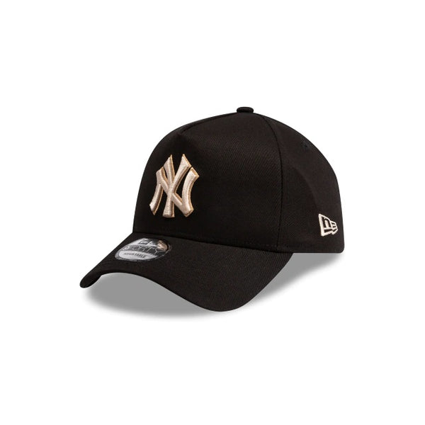 NY YANKEES 9FORTY A-FRAME - BLACK STONE/TAN