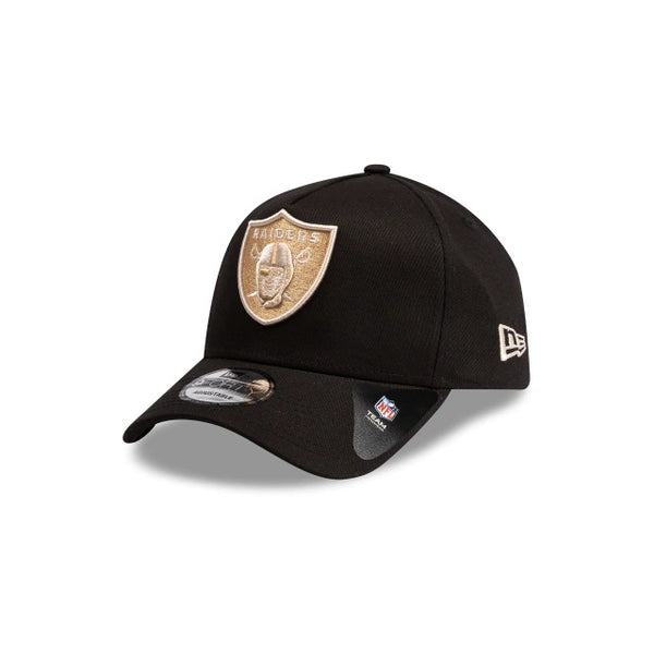 OAKLAND RAIDERS 9FORTY A-FRAME - BLACK STONE/TAN
