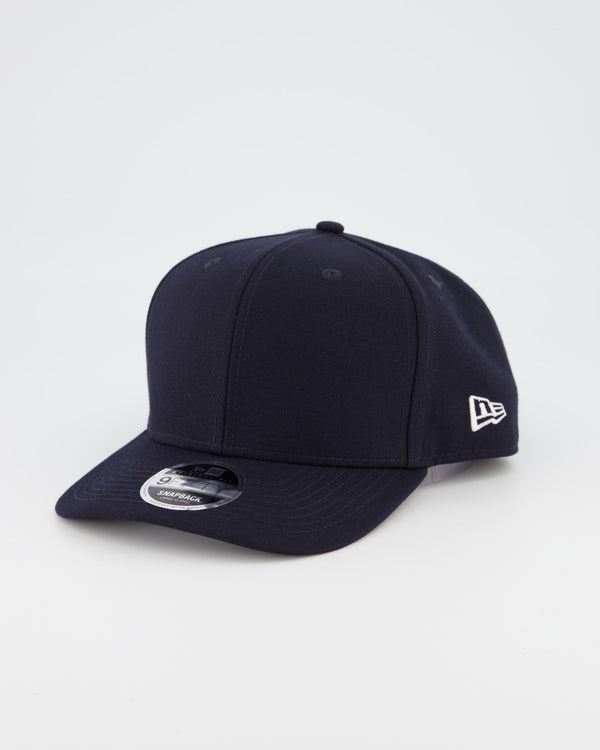 BLANK 9FIFTY PRE-CURVE ORIGINAL FIT SNAPBACK - NAVY