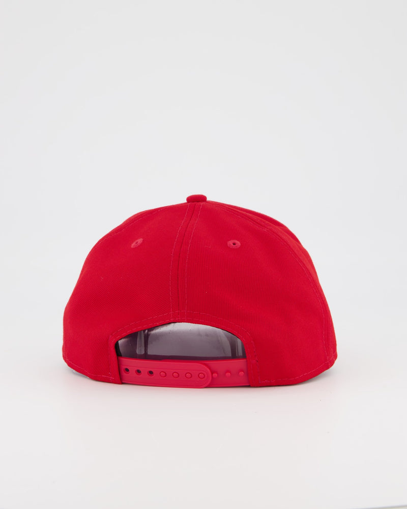 BLANK 9FIFTY PRE-CURVE ORIGINAL FIT SNAPBACK - SCARLET