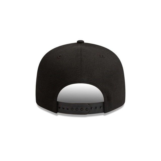 LA DODGERS 9FIFTY SNAPBACK - BLACK-WHITE LOGO