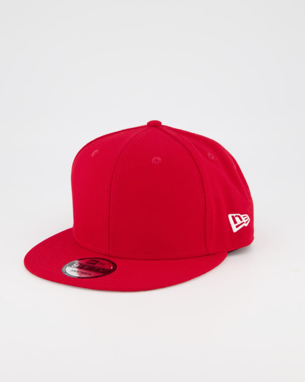 BLANK 9FIFTY SNAPBACK - SCARLET RED