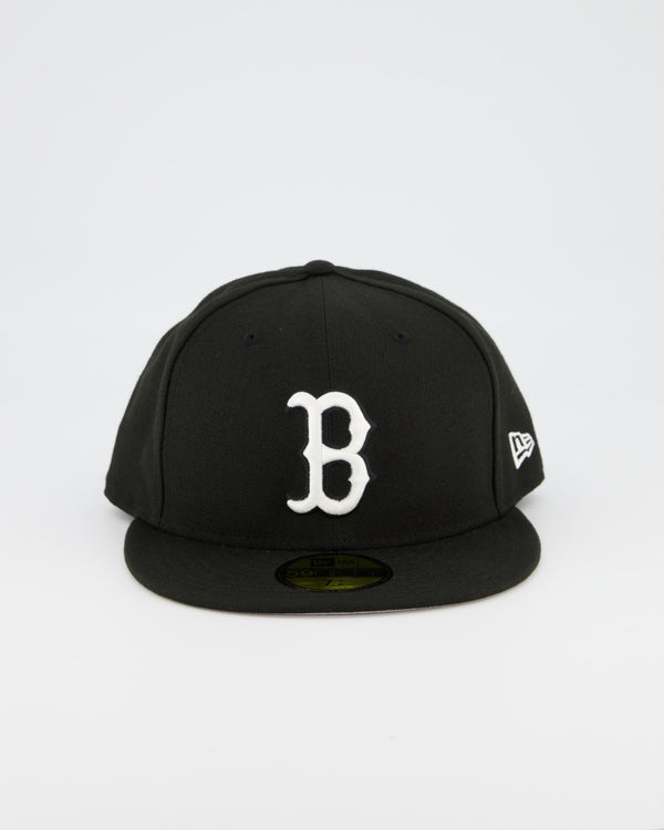 Boston Redsox 59FIFTY Fitted Cap - Black/White