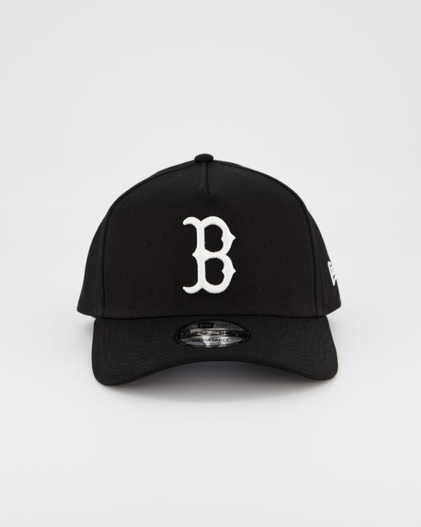 BOSTON REDSOX 9FORTY A-FRAME - BLACK/WHITE