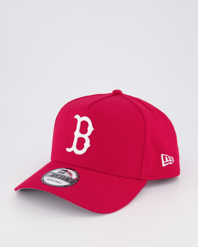 BOSTON REDSOX 9FORTY A-FRAME - SCARLET/RED Under Brim