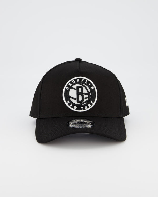 BROOKLYN NETS 9FORTY A-FRAME - BLACK/WHITE