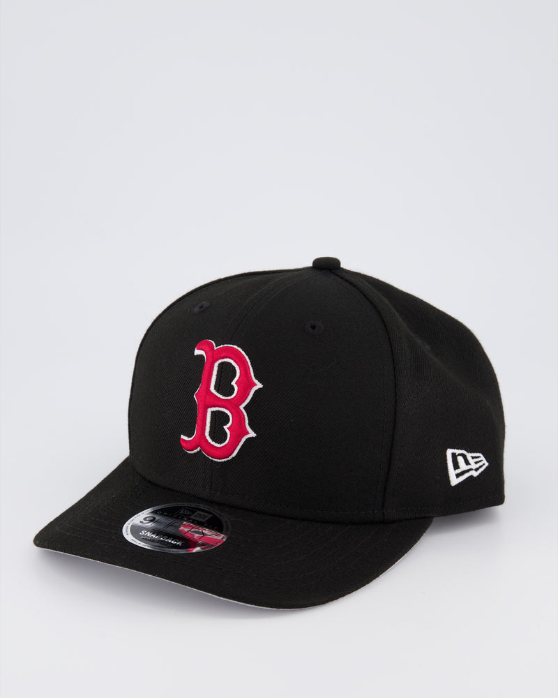 BOSTON RED SOX 9FIFTY ORIGINAL FIT PRE CURVE - BLACK