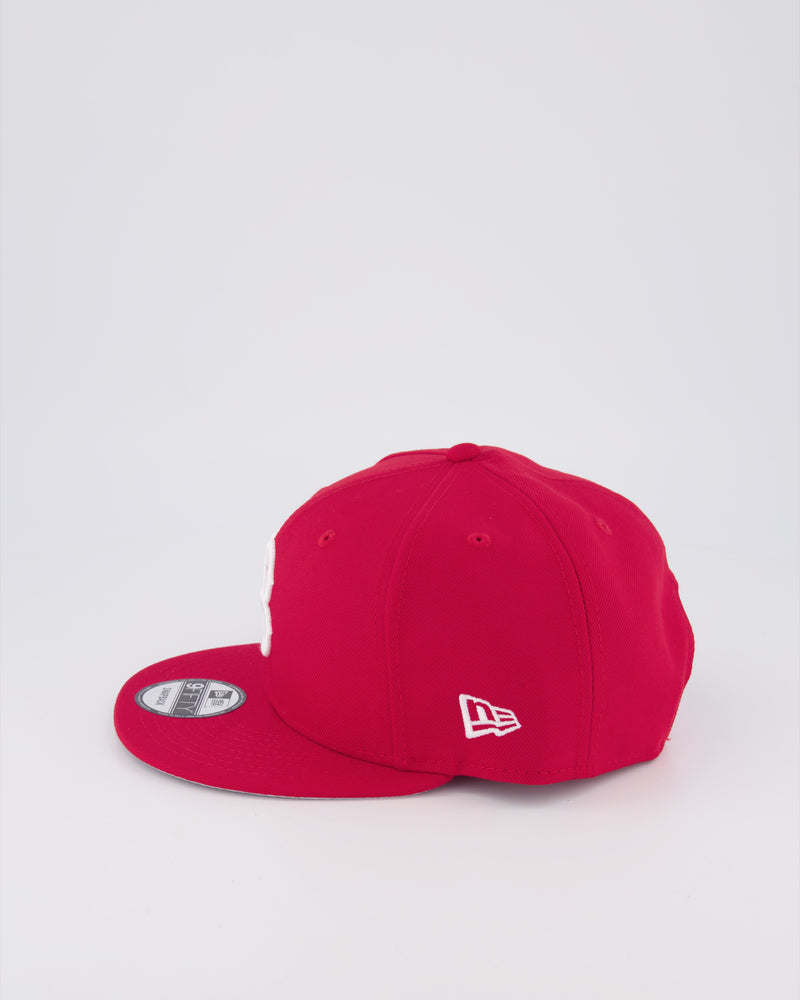 BOSTON RED SOX 9FIFTY SNAPBACK - SCARLET RED/GREY UV