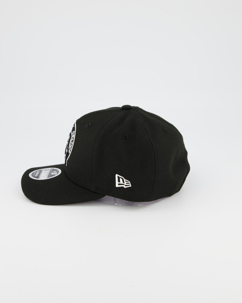 BOSTON CELTICS 9FIFTY ORIGINAL FIT PRE CURVE - BLACK/WHITE