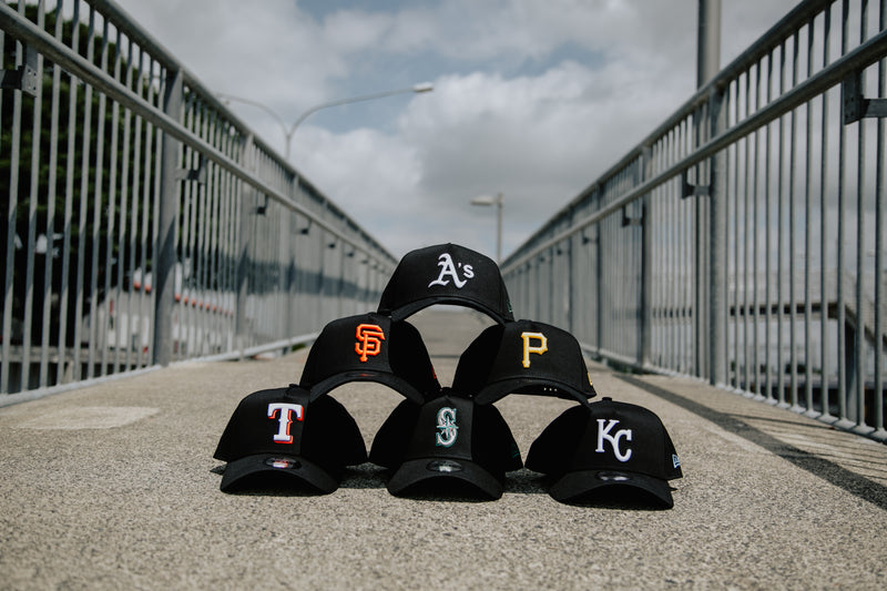 Oakland Athletics 9FORTY A-FRAME - BLACK OTC