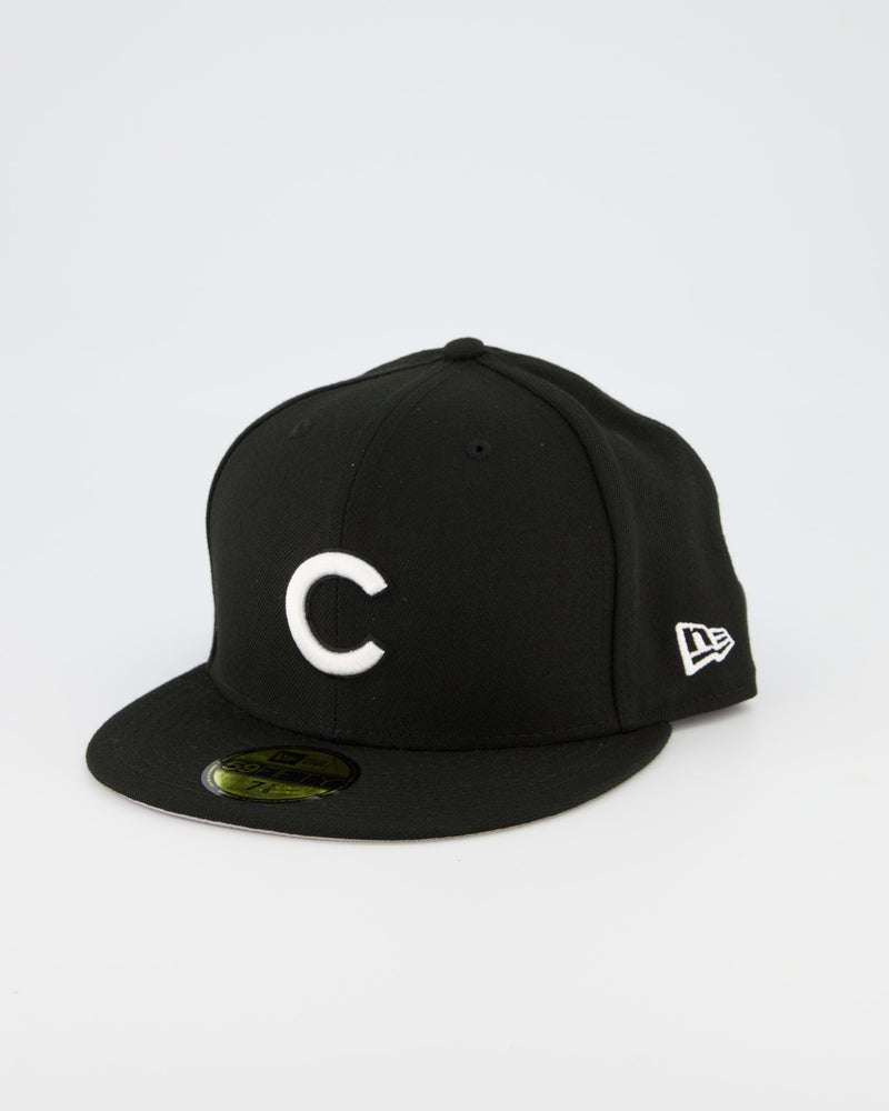 Chicago Clubs 59FIFTY Fitted Cap - Black/White