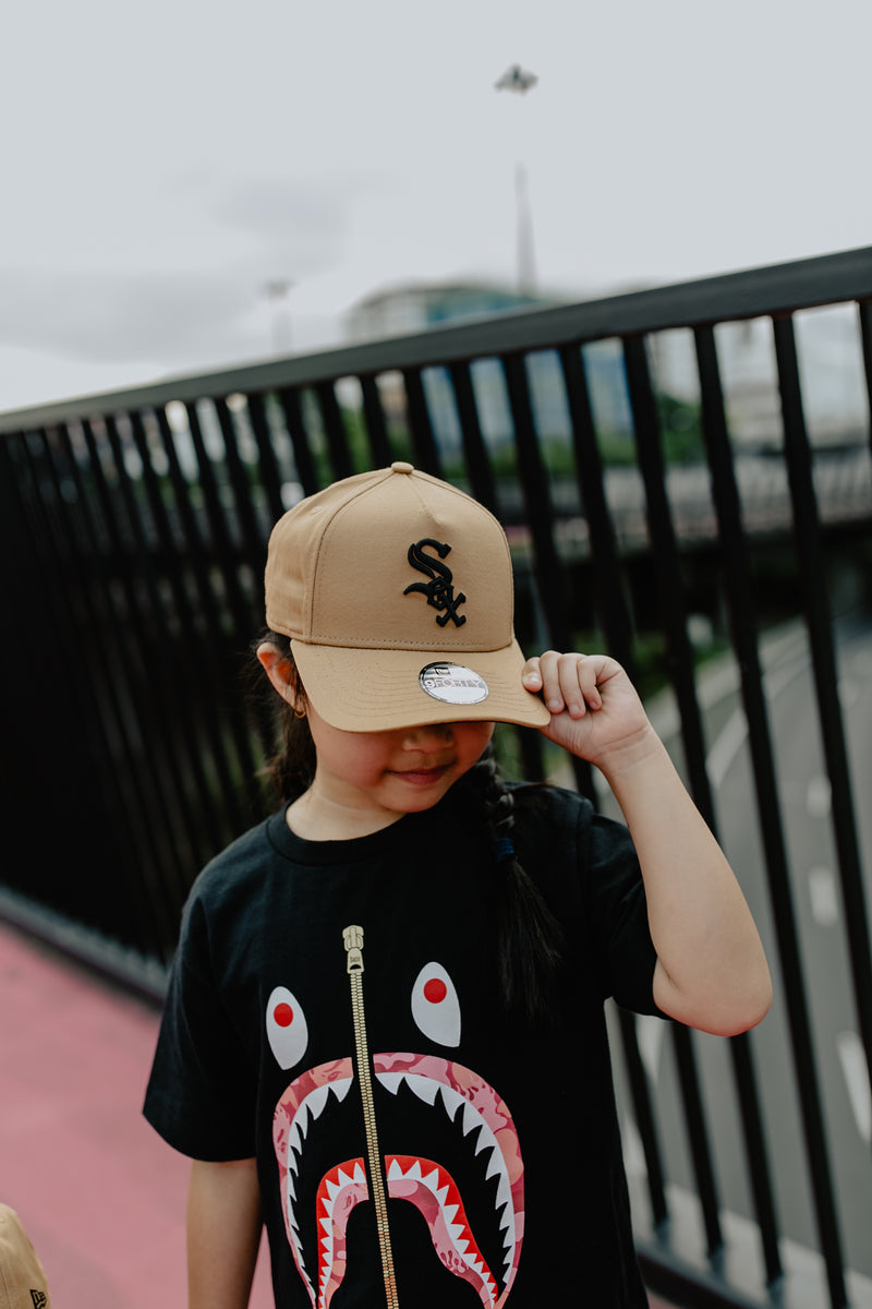 YOUTH CHICAGO WHITE SOX 9FORTY A-FRAME - WHEAT