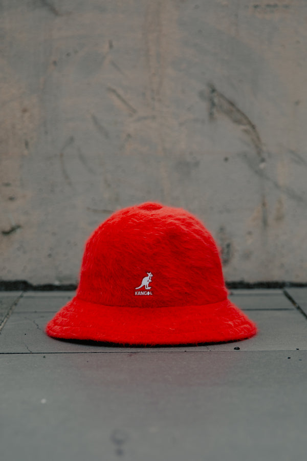 FURGORA CASUAL HAT - SCARLET RED