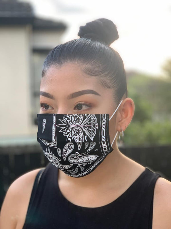 DISPOSABLE CUSTOM BANDANA MASK