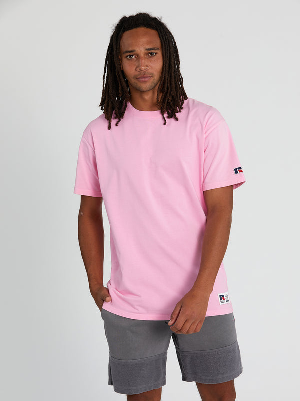 Russell Athletic Eagle R Orchid Tee