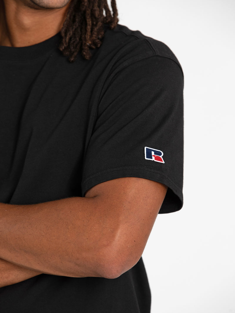 Russell Athletic Eagle R Tee - BLACK