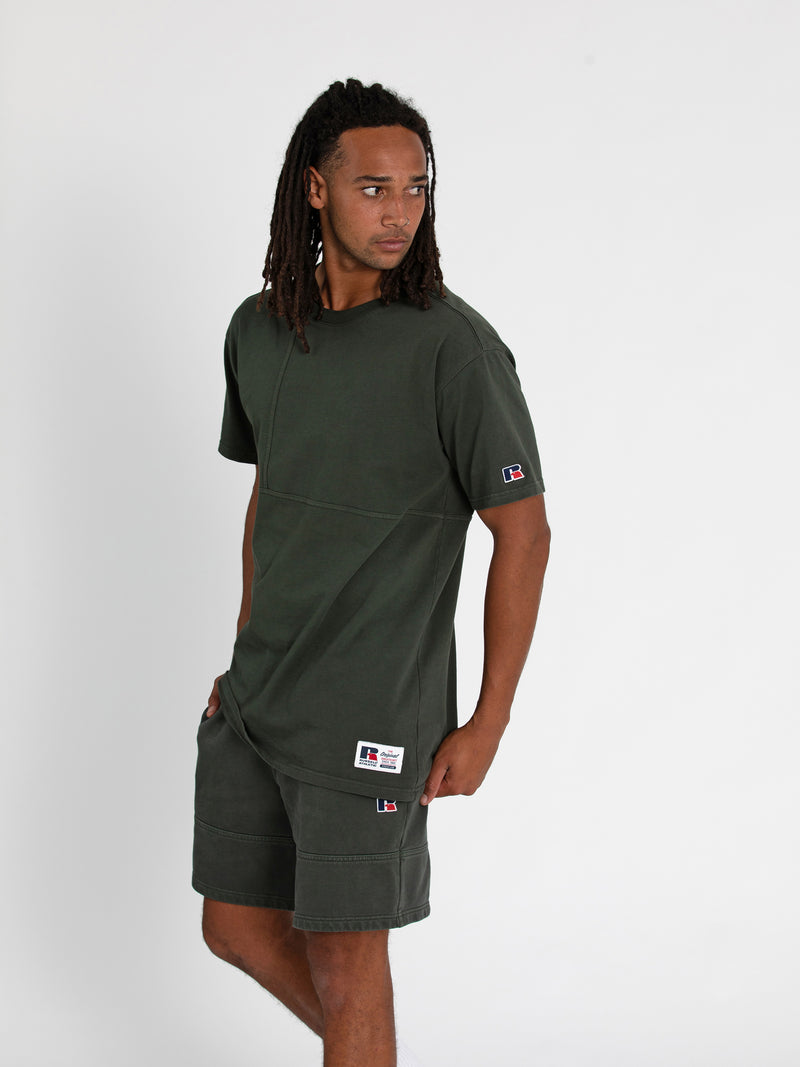 Russell Athletic Eagle R Tee - OLIVE