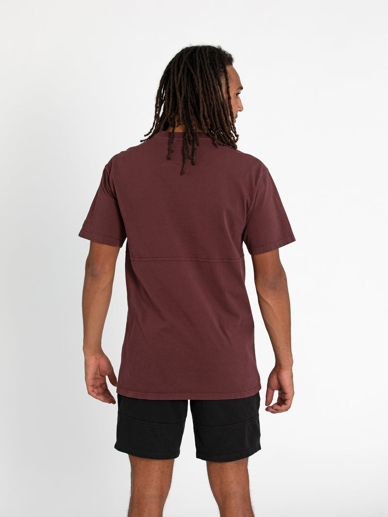 Russell Athletic Eagle R Tee - PAPRIKA