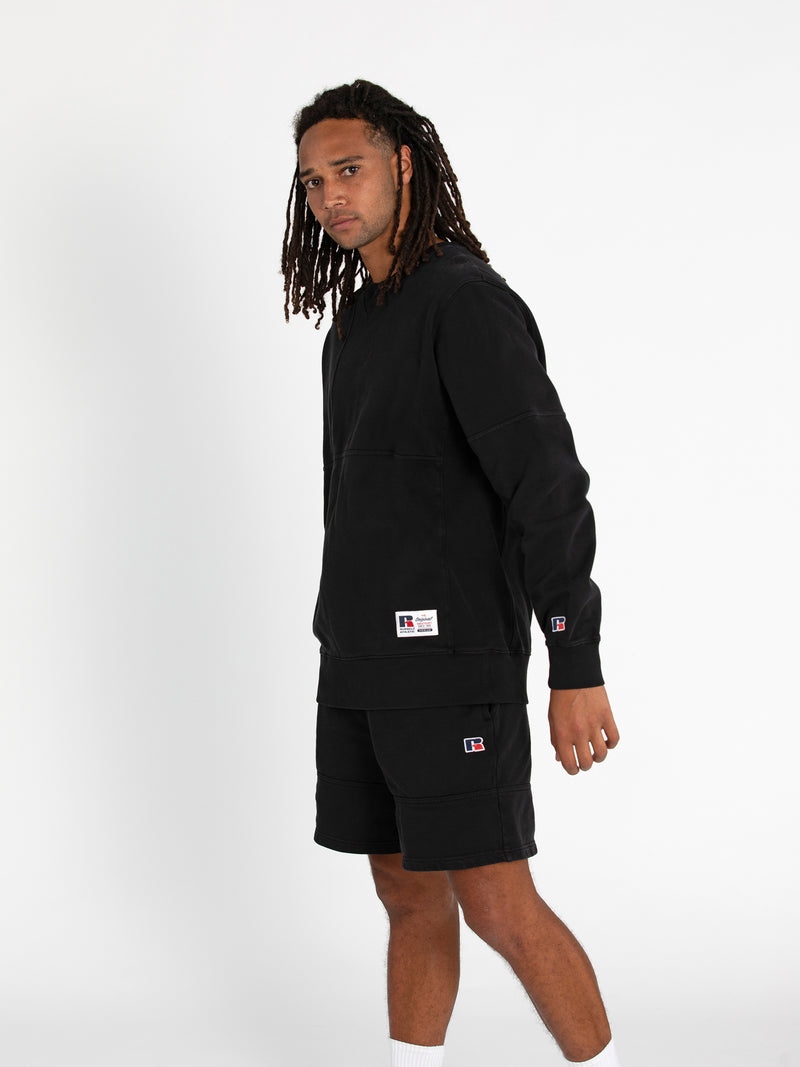 Russell Athletic Eagle R Crew - BLACK