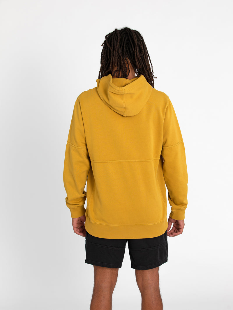 Russell Athletic Eagle R Panel Hoodie - CRESS