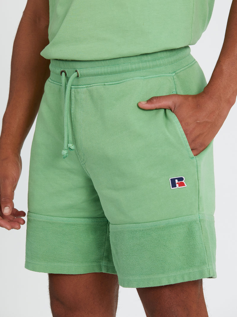 Russell Athletic Eagle R Cactus Shorts
