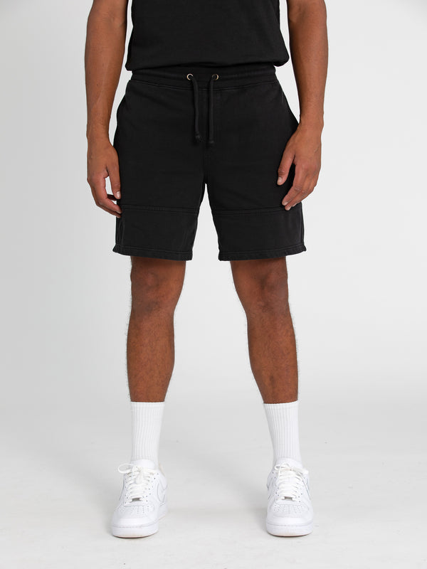 Russell Athletic Eagle R Shorts - BLACK