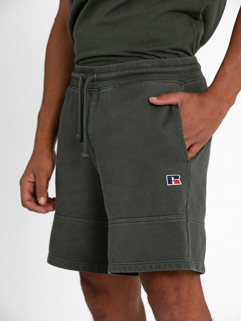 Russell Athletic Eagle R Shorts - OLIVE