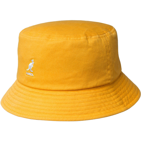 WASHED BUCKET HAT - GOLD YELLOW