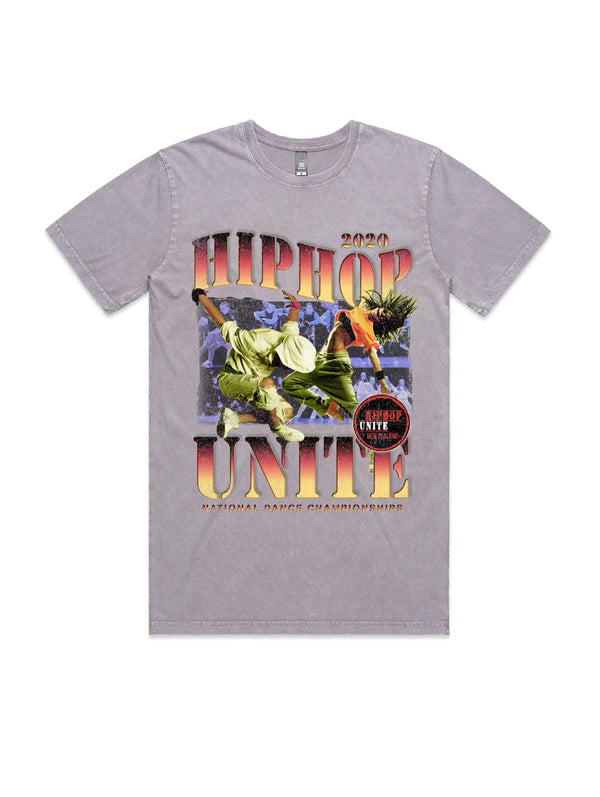 HHUNZ 2020 VINTAGE WASH TEE - STONE ORCHARD