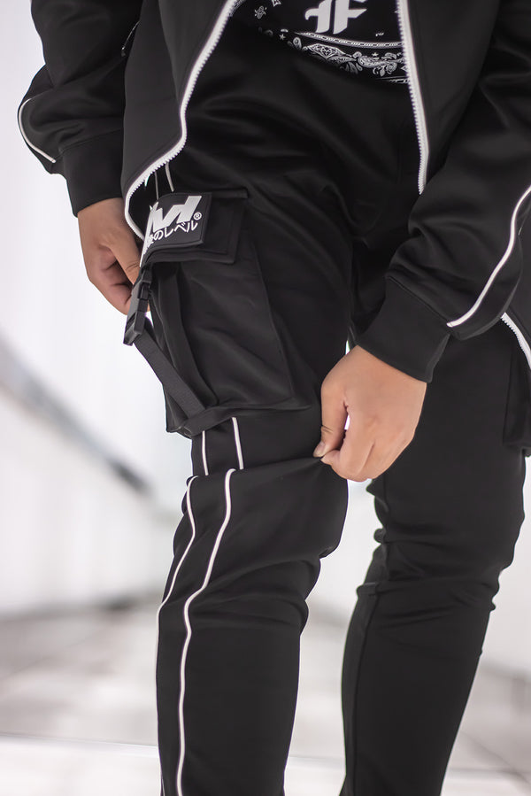 Urban Tech Track Cargo Pants with Removal Side Patch