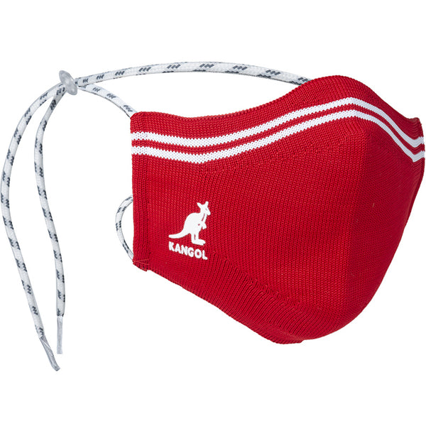 Kangol Tropic Yarn Washable Face Mask - RED