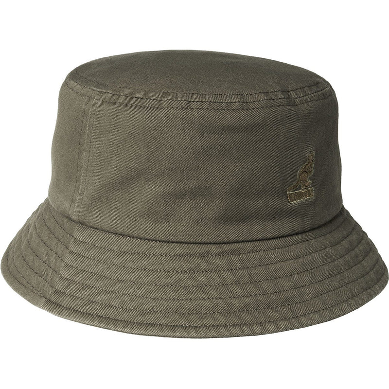 WASHED BUCKET HAT - SMOG