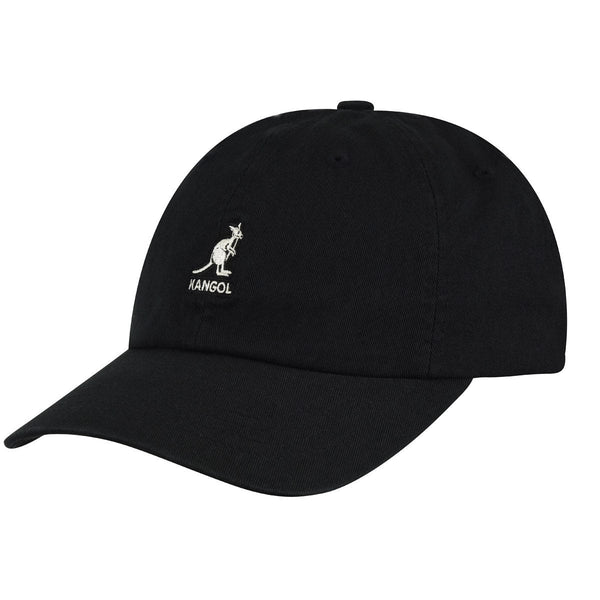 WASHED BASEBALL CAP - BLACK