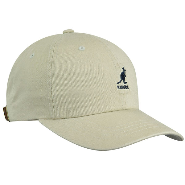 WASHED BASEBALL CAP - KHAKI