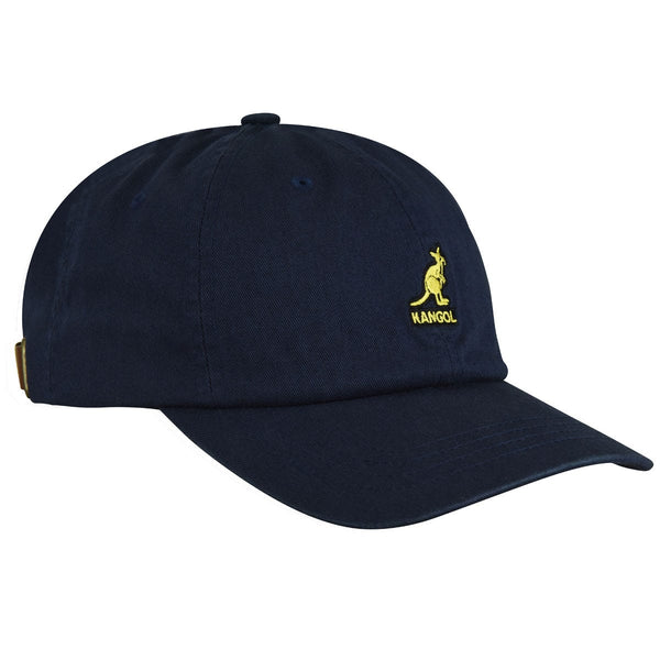 WASHED BASEBALL CAP - NAVY