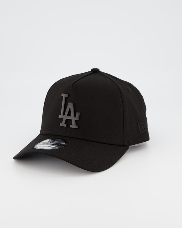 LA DODGERS 9FORTY A-FRAME - BLACK METAL BADGE