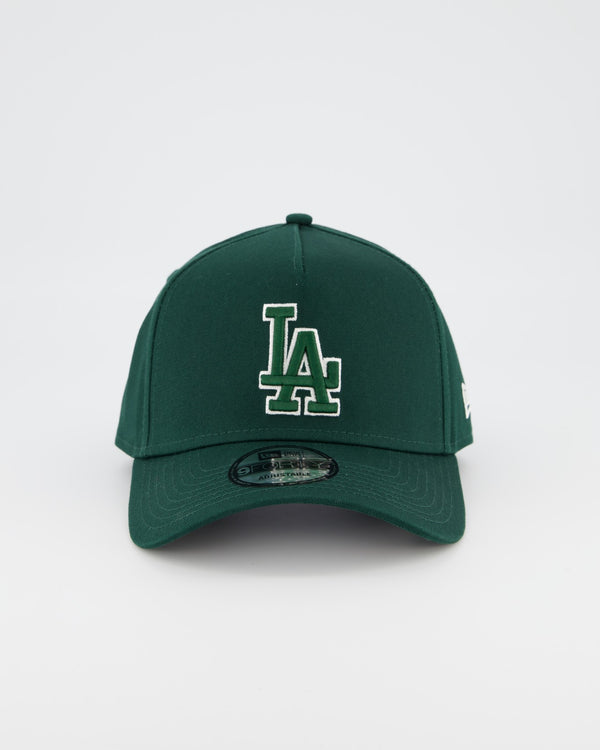 LA DODGERS 9FORTY A-FRAME - FOREST GREEN