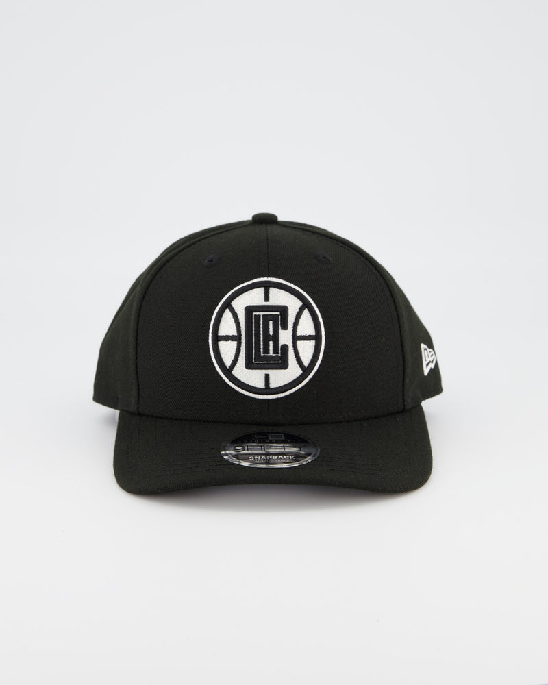 LA CLIPPERS 9FIFTY ORIGINAL FIT PRE CURVE - BLACK/WHITE