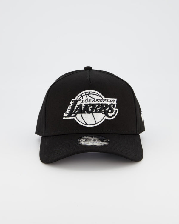 LA LAKERS 9FORTY A-FRAME - BLACK/WHITE