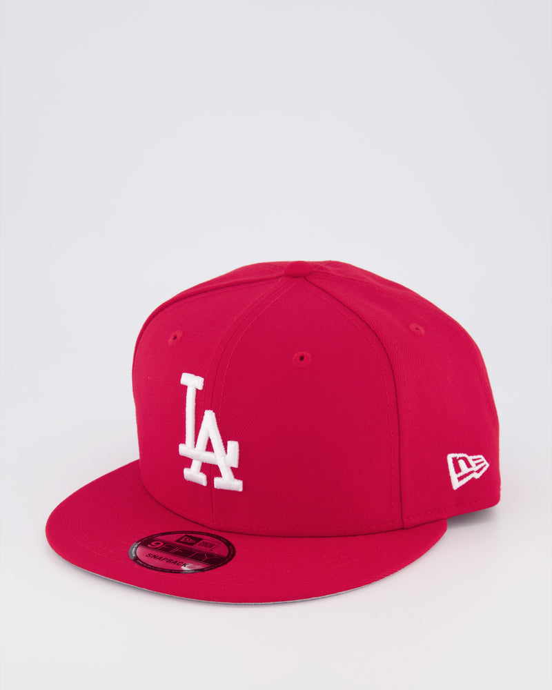 LA DODGERS 9FIFTY SNAPBACK - SCARLET RED/RED UV