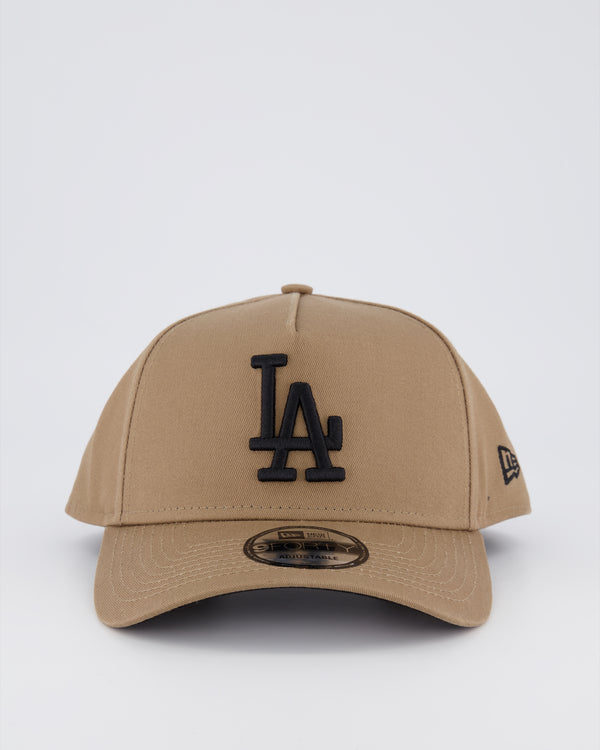 LA DODGERS 9FORTY A-FRAME - PUTTY/BLACK UV UNDERBRIM
