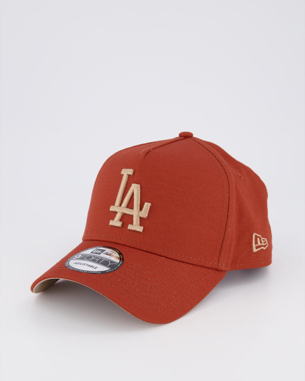 LA DODGERS 9FORTY A-FRAME - RUST