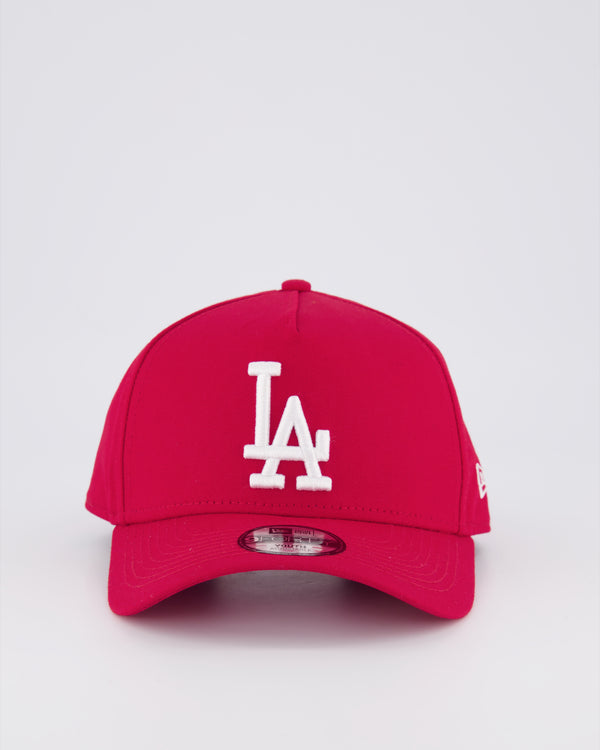 YOUTH LA DODGERS 9FORTY A-FRAME - SCARLET RED