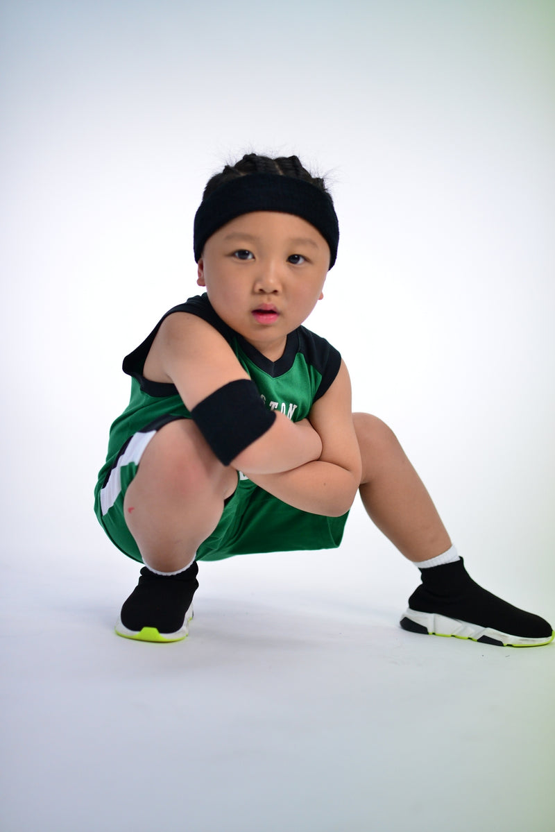 KIDS BOSTON CELTICS TRAINING CHAMP 2 PIECE SET